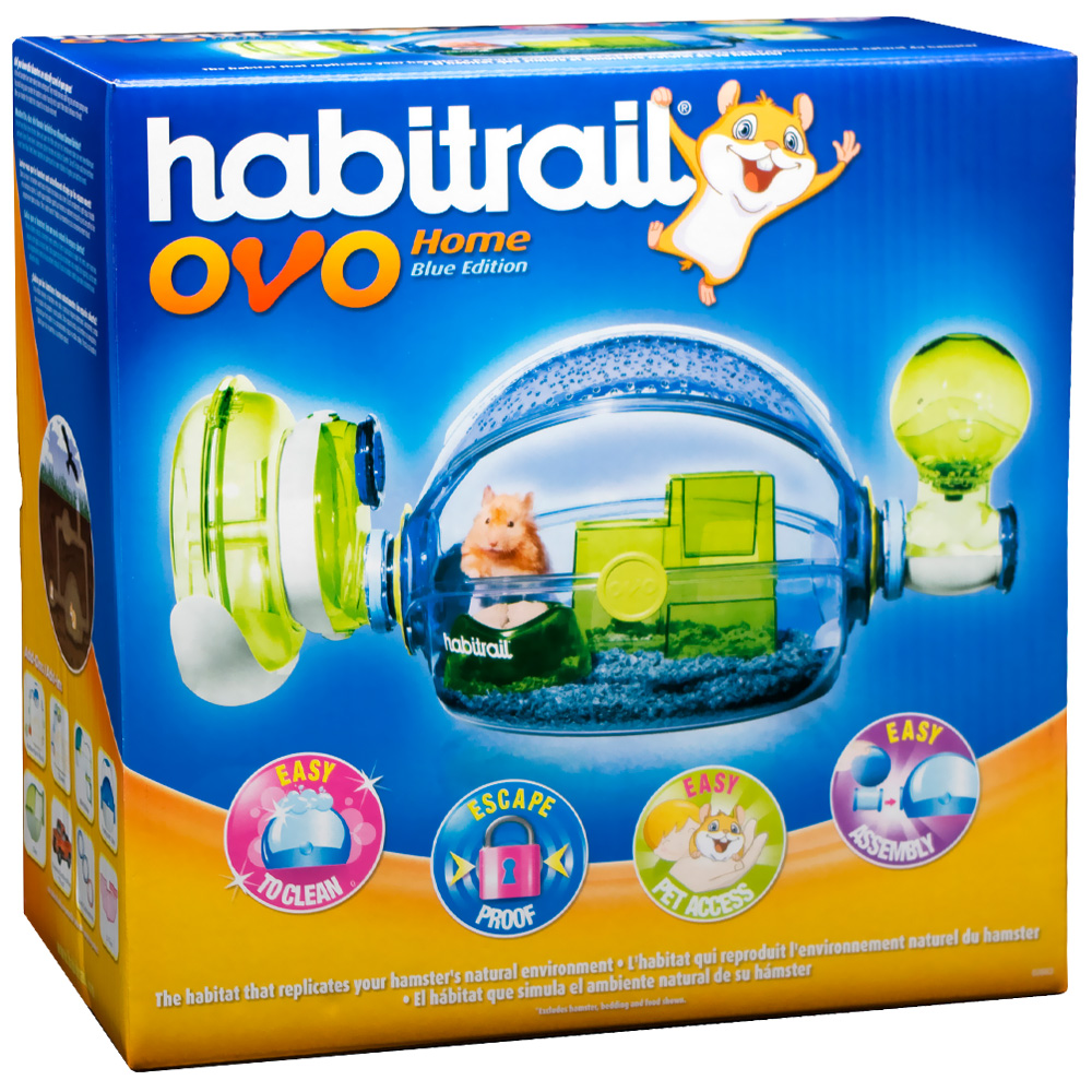 Image of Habitrail Ovo Home- Blue