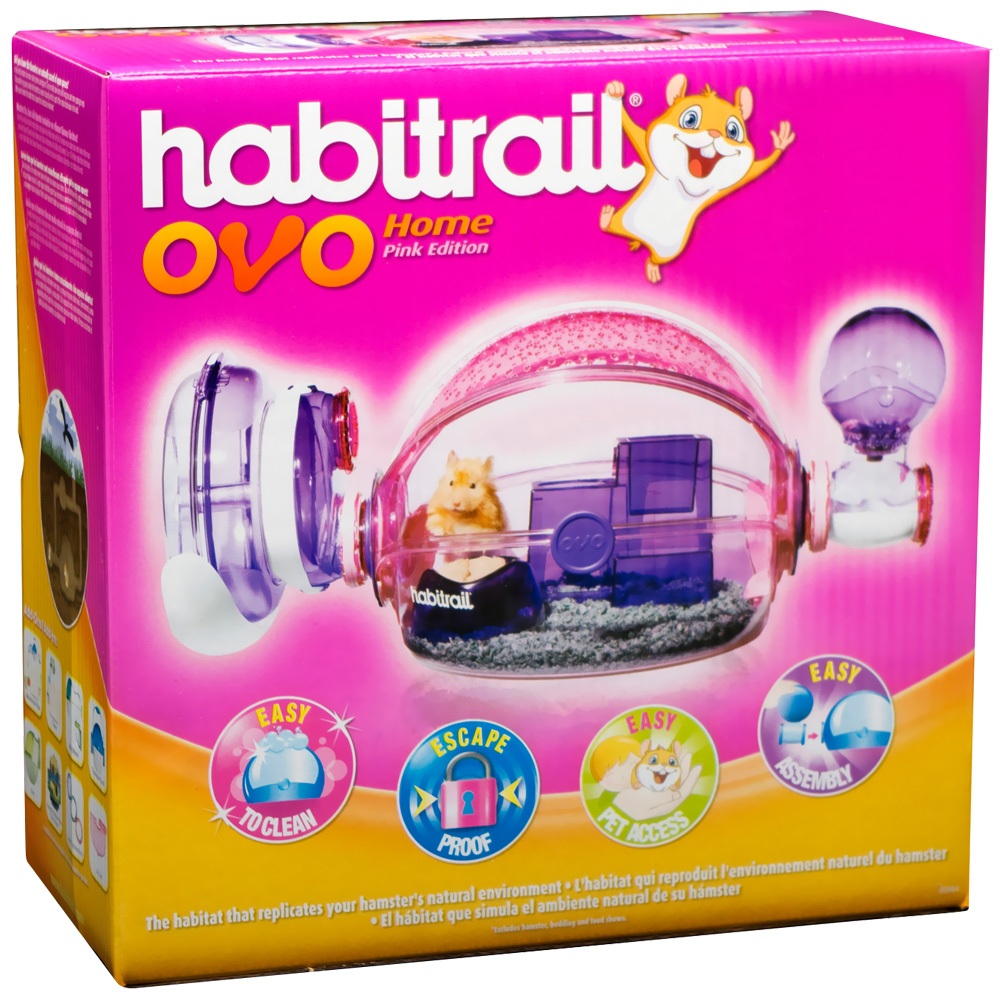 Image of Habitrail Ovo Home- Pink