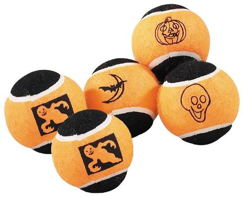Halloween Spooky Balls - 5-Pack - from EntirelyPets