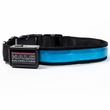 Halo Mini LED Safety Dog Collar Blue - Large