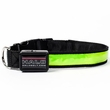 Halo Mini LED Safety Dog Collar Green - Large