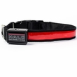 Halo Mini LED Safety Dog Collar Red - Large
