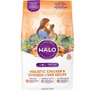 HALO Spot's Stew Wholesome Chicken & Chicken Liver Dry Cat Food (6 lb)