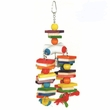 Happy Beaks Toy - 4 Chain & Wooden Blocks