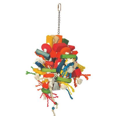 Happy Beaks Toy - Cluster Blocks (Large)