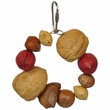 Happy Beaks Toy - Deluxe Mixed Nut Ring Jr.