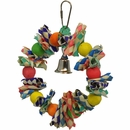 Happy Beaks Toy - Fiesta Wreath (Small)