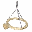 Happy Beaks Toy - Horizontal Sisal Rope Swing (Large)