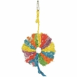 Happy Beaks Toy - Rainbow Sisal Ring (Small)