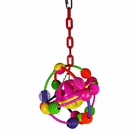 Happy Beaks Toy - Space Ball on a Chain
