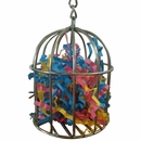 Happy Beaks Toy - Stainless Steel Bird Cage Treat Feeder