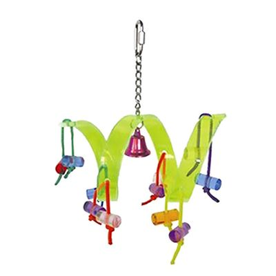 Happy Beaks Toy - The Acrylic Roller Coaster