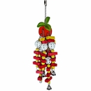 Happy Beaks Toy - Tomato (Large)