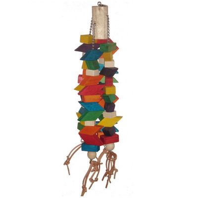 Happy Beaks Toy - Trapezoid Bird Toy (Extra Large)