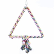 Happy Beaks Toy - Triangle Cotton Rope Swing