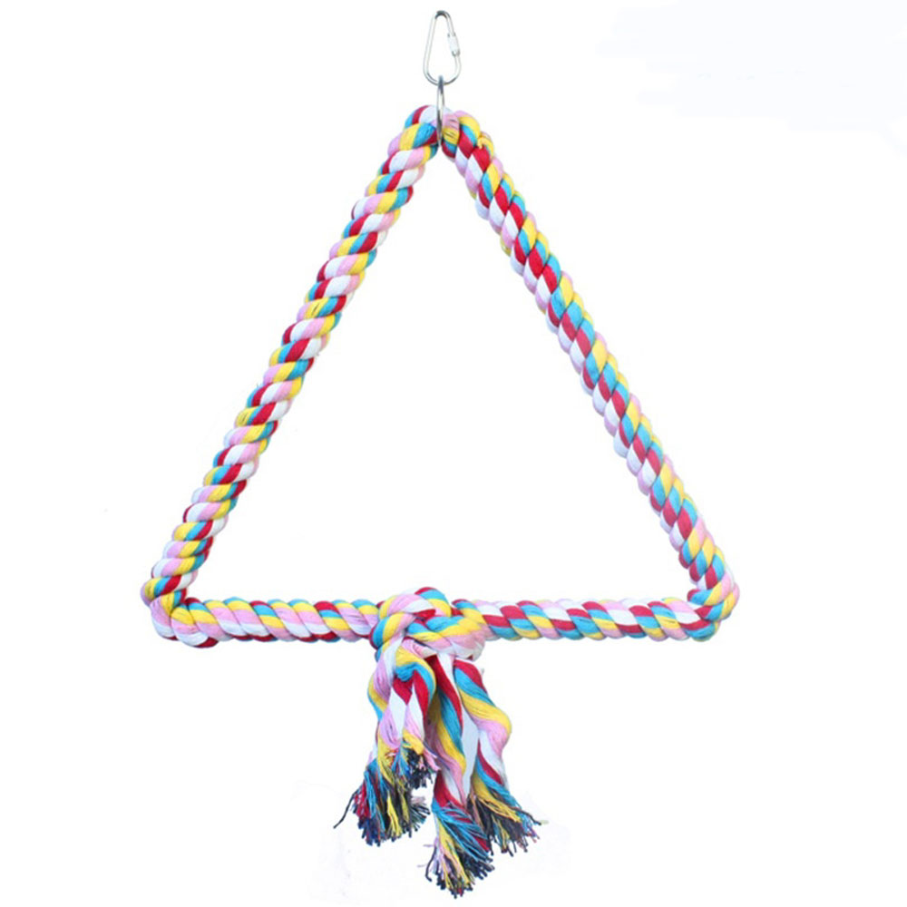 HAPPY-BEAKS-TOY-TRIANGLE-COTTON-ROPE-SWING