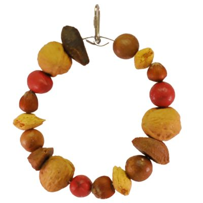 Happy Beaks Toy - Tropical Delight (Mixed Nut Ring)