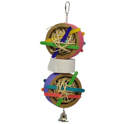 Happy Beaks Toy - Vine Ball Shredder (Large)