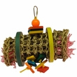 Happy Beaks Toy - Vine Mat Rollup Small