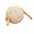 "Happy Beaks Toy - Whiffle Ball Foot Toy (4""x2""x2"")"