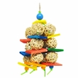 Happy Beaks Toy - Wicker Cluster
