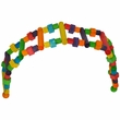 Happy Beaks Toy - Wood Block Ladder (Jumbo)