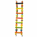 Happy Beaks Toy - Wood Block Ladder (Medium)