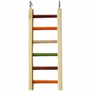"Happy Beaks Toy - Wooden Hanging Ladder - 1/2"" Diameter (14""x5.25"")"