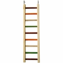 "Happy Beaks Toy - Wooden Hanging Ladder - 1/2"" Diameter (20""x5.25"")"