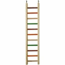 "Happy Beaks Toy - Wooden Hanging Ladder - 1/2"" Diameter (26""x5.25"")"