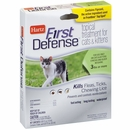 Hartz First Defense Flea & Tick for Cats - Over 3 lbs