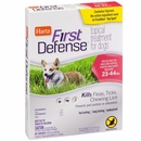Hartz First Defense Flea & Tick for Dogs - 23-44 lbs