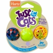 Hartz Just for Cats Bizzy Balls Cat Toy (3 pack)