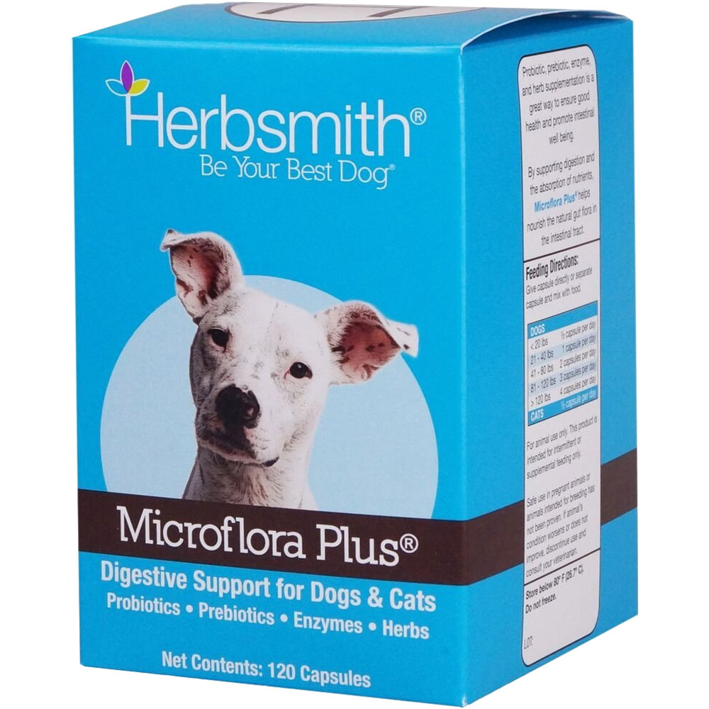 Herbsmith Microflora Plus for Digestion (120 count) im test