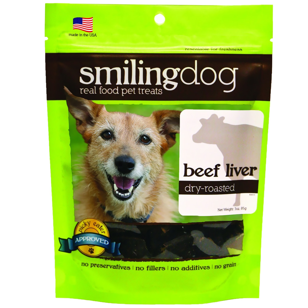 Image of Herbsmith Smiling Dog Dry-Roasted Treats - Beef Liver