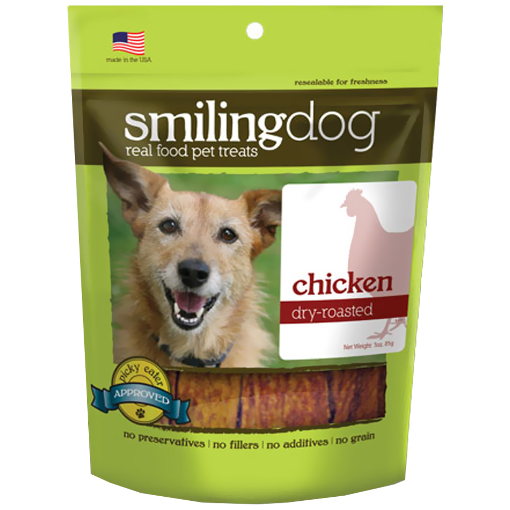 Image of Herbsmith Smiling Dog Dry-Roasted Treats - Chicken