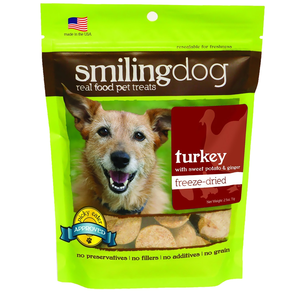 Herbsmith Smiling Dog Freeze-Dried Treats - Turkey with Sweet Potato & Ginger im test