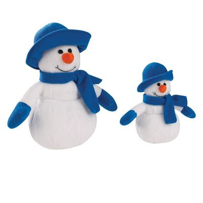 Image of Holiday Heather Snowman Toy Set from EntirelyPets