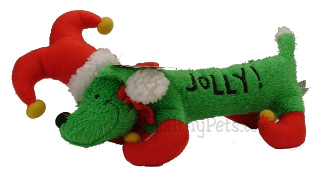 """Image of Holiday """"Hot Dogs"""" Holly Jolly Hound (13 in)"""
