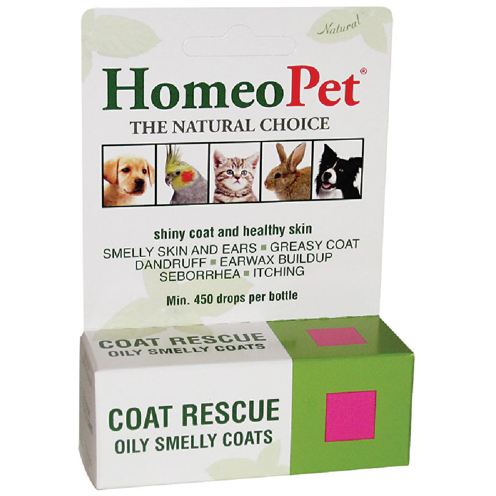 Image of Homeopet Coat Rescue (15 ml)