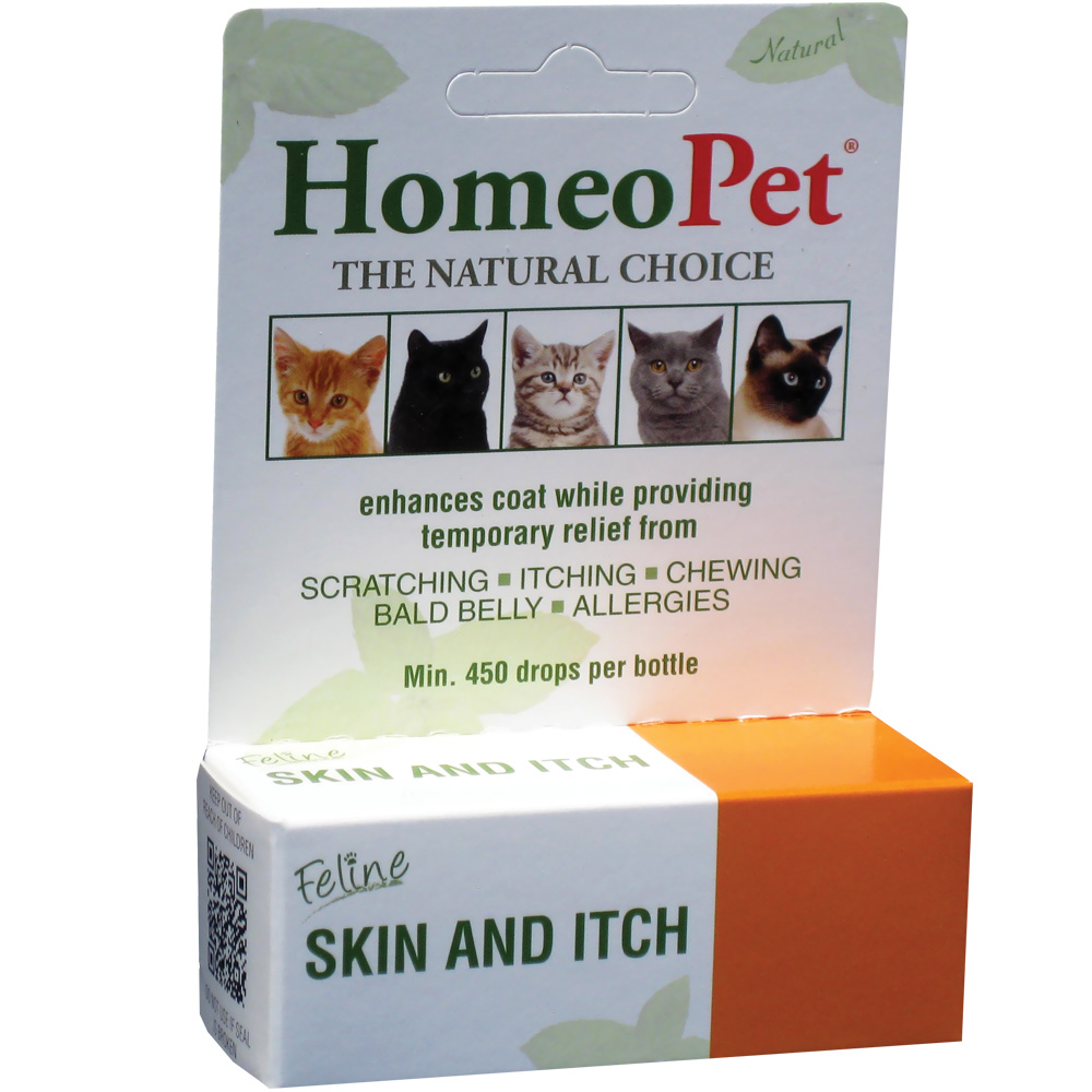 Image of Homeopet Feline Skin & Itch (15 ml)