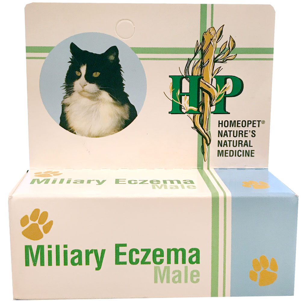 Image of HomeoPet Miliary Eczema Male Cats & Dogs (15mL)