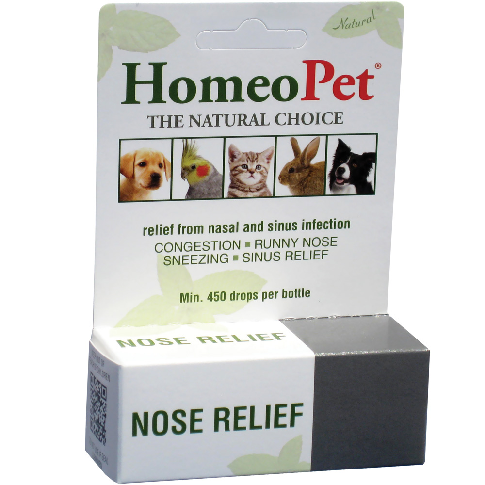 HomeoPet Nose Relief (15mL) im test