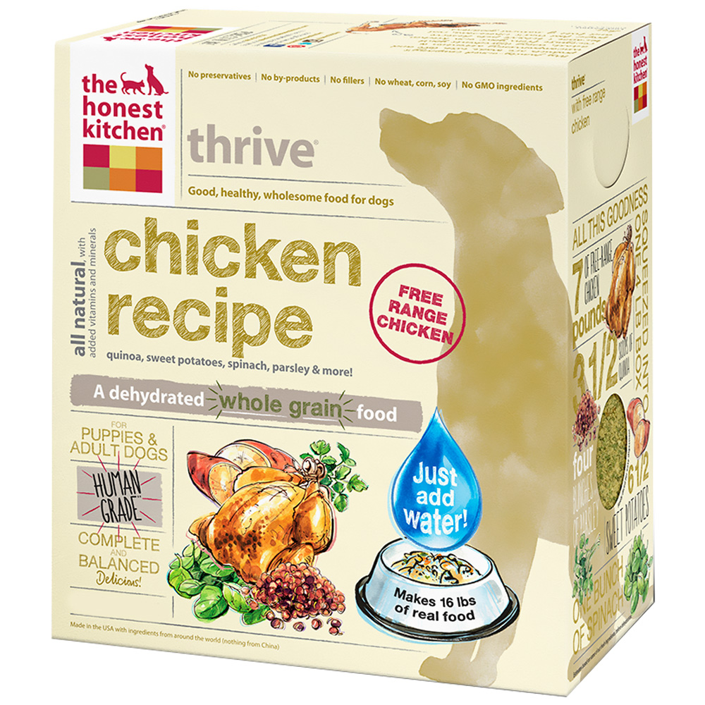 Image of Honest Kitchen Thrive Dehydrated Chicken Dog Food (10 lbs)