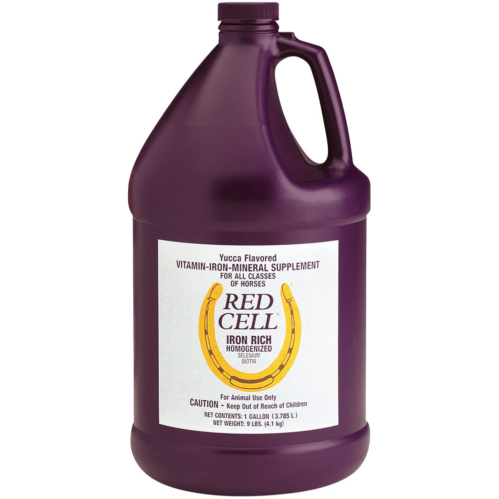 Horse Health Products Red Cell Vitamin / Iron / Mineral Supplement for Horses, 1 Gallon im test
