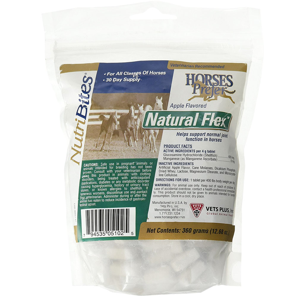 Image of Horses Prefer Natural Flex Nutribites - 90 count - from EntirelyPets