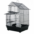 """House Top Cage in Retail Box - Black (16""""x14""""x23"""")"""
