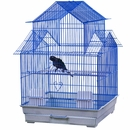 """House Top Cage in Retail Box - Blue (18""""x18""""x27"""")"""