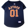 Houston Astros Dog Jersey - XSmall