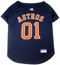 Houston Astros Dog Jerseys